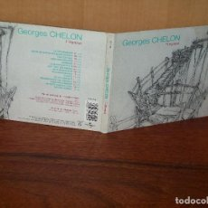 CDs de Música: GEORGES CHELON - LÍMPASSE - CD DIGIPACK CON LIBRETO. Lote 86390260