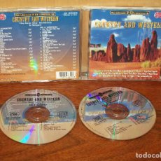 CDs de Música: COUNTRY AND WESTERN - ULTIMATE COLLECTION - DOBLE CD . Lote 86419240