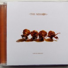 CDs de Música: THE MISSION. GOD IS A BULLET. CD SELECTA RECORDS MBB20009. BRASIL 2007. GOTH ROCK.. Lote 86495184