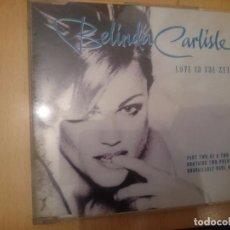 CDs de Música: BELINDA CARLISLE LOVE IS THE KEY OF C -- SINGLE --REFESCDLADEARES6. Lote 86495592