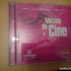 CDs de Música: MUSICA DE CINE - NUMERO 6 RECOPILATORIO DE CINESA --REFESCDLADEARES6. Lote 86495804