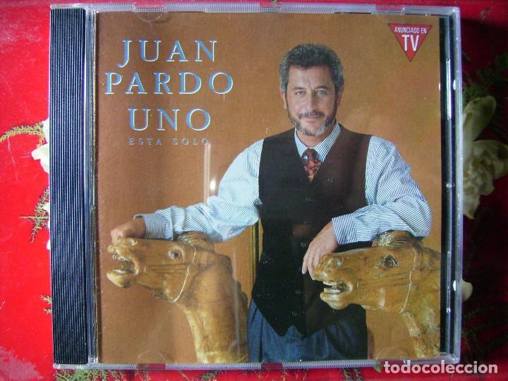 JUAN PARDO.UNO ESTA SOLO...DIFICIL EN CD (Música - CD's Melódica )