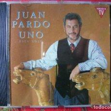 CDs de Música: JUAN PARDO.UNO ESTA SOLO...DIFICIL EN CD. Lote 86507920