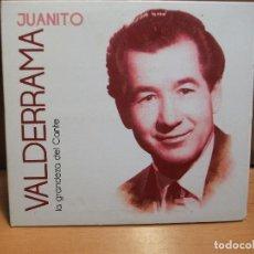 CDs de Música: JUANITO VALDERRAMA LA GRANDEZA DEL CANTE CD CARTON 14 TEMAS EMI 2012 PEPETO. Lote 86509820