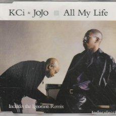 CDs de Música: K.CI & JOJO / ALL MY LIFE (4 VERSIONES) CD SINGLE CAJA 1997. Lote 86525884