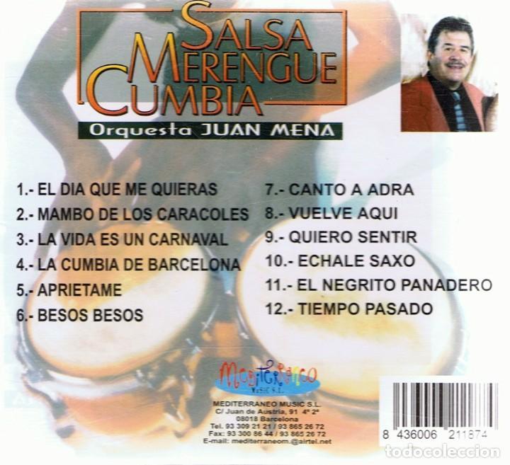 CDs de Música: CD SALSA - MERENGUE -CUMBIA - Foto 2 - 86530596