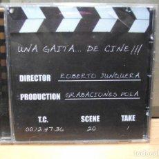 CDs de Música: UNA GAITA .. DE CINE ROBERTO JUNQUERA ASTURIAS CD ALBUM 2006 GP ASTURIAS COMO NUEVO¡¡. Lote 86532360