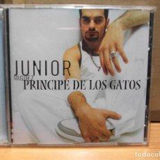CDs de Música: JUNIOR MIGUEZ. PRINCIPE DE LOS GATOS. CD ALBUM COMO NUEVO¡¡ PEPETO. Lote 86532472