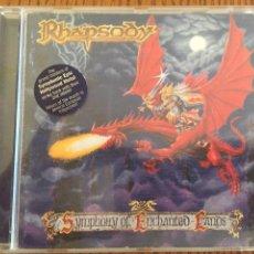 CDs de Música: CD RHAPSODY. METAL EPIC. SYMPHONY OF ENCHARTED LANDS. Lote 86534290