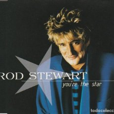 CDs de Música: ROD STEWART / YOU'RE THE STAR / SHOCK TO THE SYSTEM + 1 (CD SINGLE CAJA 1995). Lote 86563560