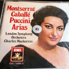 CDs de Música: MONTSERRAT CABALLÉ PUCCINI ARIAS LONDON SYMPHONY ORCHESTRA C.MACKERRAS. Lote 86568472