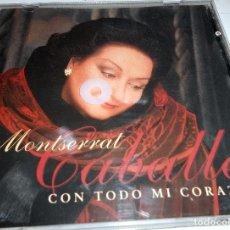 CDs de Música: MONTSERRAT CABALLÉ CON TODO MI CORAZON CD.. Lote 86575116