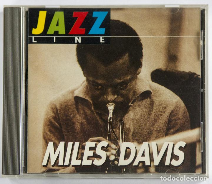 CD MILES DAVIS - JAZZ LINE LIVE RECORDING. EDITOP 2000 PARIS MUY RARO (Música - CD's Jazz, Blues, Soul y Gospel)