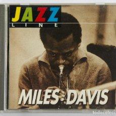CDs de Música: CD MILES DAVIS - JAZZ LINE LIVE RECORDING. EDITOP 2000 PARIS MUY RARO. Lote 86583076