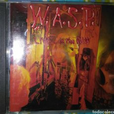 CDs de Música: WASP-LIVE IN THE RAW CD. HEAVY METAL. Lote 86587128
