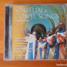 CDs de Música: CD SPIRITUAL GOSPEL SONGS - ROCK MY SOUL (2 CD) (1S). Lote 86621868