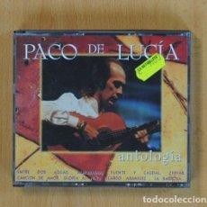 CDs de Música: PACO DE LUCIA - ANTOLOGIA - CD. Lote 86627852