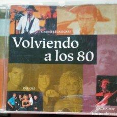 CDs de Música: VOLVIENDO A LOS 80. Lote 86725600