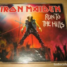 CDs de Música: MAXI CD IRON MAIDEN RUN TO THE HILLS +BONUS ENHANCED CD. Lote 86737240