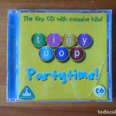 CDs de Música: CD TINY POP - PARTYTIME! (1X). Lote 279499928