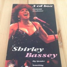 CDs de Música: SHIRLEY BASSEY ‎- DIAMONDS ARE FOREVER-TRIPLE CD. Lote 86748268