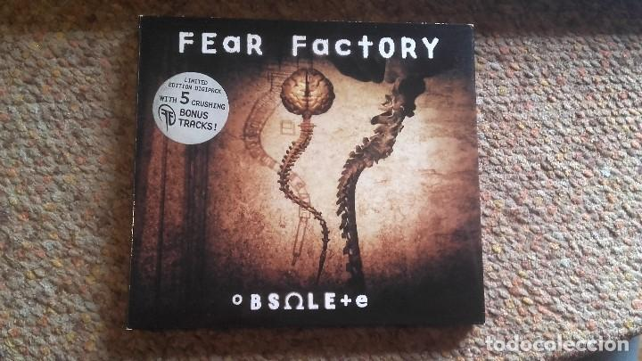 FEAR FACTORY , OBSOLETE , CD DIGIPACK.EDICIÓN LIMITADA 5 BONUS TRACK , IMPECABLE (Música - CD's Rock)
