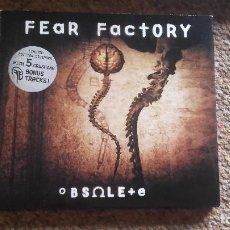 CDs de Música: FEAR FACTORY , OBSOLETE , CD DIGIPACK.EDICIÓN LIMITADA 5 BONUS TRACK , IMPECABLE. Lote 86798824