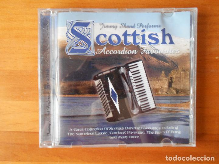 CD JIMMY SHAND PERFORMS SCOTTISH ACCORDION FAVOURITES (1Y)