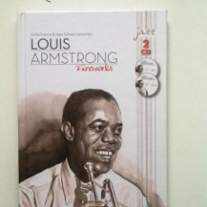 CDs de Música: LOUIS ARMSTRONG FIREWORKS JAZZ CHARACTERS NUM 1 LIBRO + 2 CDS . Lote 86856456