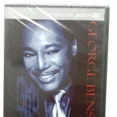 CDs de Música: GEORGE BENSON ABSOLUTELY LIVE DVD LOS GRANDES DEL JAZZ NUEVO PRECINTADO. Lote 86862864