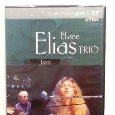 CDs de Música: ELIANE ELIAS TRIO RECORDED LIVE AT THE MUNICH PHILHARMONI DVD LOS GRANDES DEL JAZZ NUEVO PRECINTADO . Lote 86863692