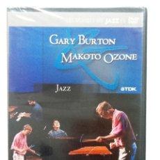 CDs de Música: GARY BURTON MAKOTO OZONE DVD LOS GRANDES DEL JAZZ NUEVO PRECINTADO. Lote 86864672