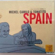 CDs de Música: MICHEL CAMILO Y TOMATITO. SPAIN. CD . LOLA ROCORDS. NUEVO PRECINTADO. Lote 86906912