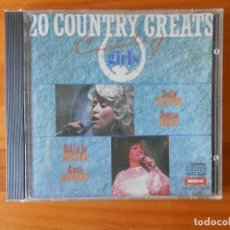 CDs de Música: CD COUNTRY GIRLS - 20 COUNTRY GREATS (1Z). Lote 86920344