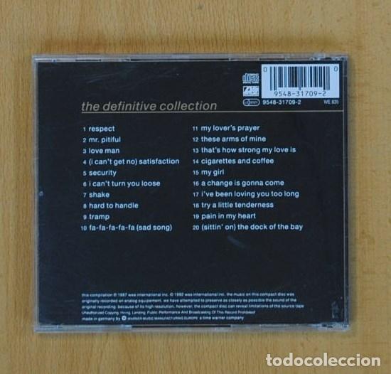 CDs de Música: OTIS REDDING - THE DEFINITIVE COLLECTION - CD - Foto 2 - 86925466