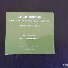 CDs de Música: DOBLE CD MADRES ASTURIAS COLECCIÓN DE CANCIONES ASTURIANAS JESÚS LÓPEZ COBOS JOAQUÍN PIXÁN ASTURIAS. Lote 86989524