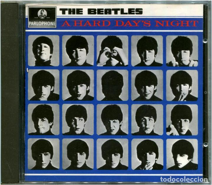 THE BEATLES ‎– A HARD DAY'S NIGHT - CD EUROPE 1993 - PARLOPHONE ‎/ APPLE 7 46437 2 (Música - CD's Bandas Sonoras)