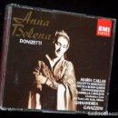 CDs de Música: 2CD - ANNA BOLENA - MARIA CALLAS - GIANANDREA GAVAZZENI - EMI CLASSICS - LIBRETO. Lote 87084544