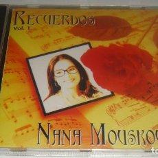 CDs de Música: CD - NANA MOUSKOURI - RECUERDOS VOL. 1 - MADE IN USA - MOUSKOURI. Lote 87111264