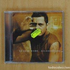 CDs de Música: ALEJANDRO SANZ - NO ES LO MISMO - CD. Lote 87158894