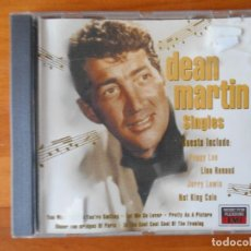 CDs de Música: CD DEAN MARTIN - THE SINGLES - GUESTS INCLUDE PEGGY LEE, JERRY LEWIS, NAT KING COLE (2A). Lote 87162696