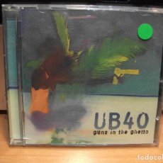 CDs de Música: UB40 , GUNS IN THE GHETTO , CD ÀLBUM COMO NUEVO¡¡¡¡. Lote 87186184