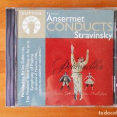 CDs de Música: CD ANSERMET CONDUCTS STRAVINSKY (U6). Lote 87219376