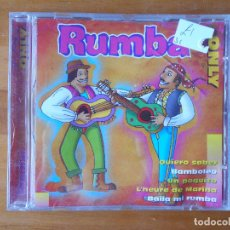 CDs de Música: CD RUMBA ONLY (U6). Lote 87223900
