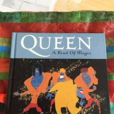 CDs de Música: LIBRO / CD QUEEN ( A KIND OF MAGIC). Lote 87227716