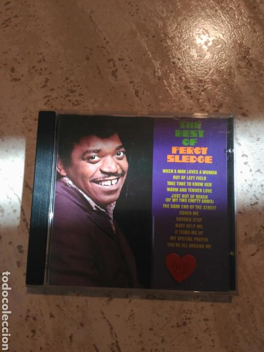 PERCY SLEDGE THE BEST (Música - CD's Jazz, Blues, Soul y Gospel)