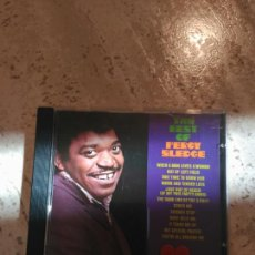 CDs de Música: PERCY SLEDGE THE BEST. Lote 87240030