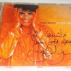 CDs de Música: CD - DE OTRO COLOR - AUTOGRAFIADO - FIRMADO POR SERGIO DALMA. Lote 87245416