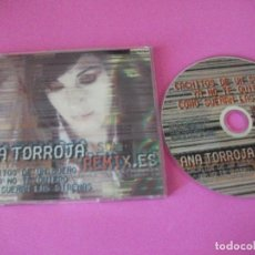 CDs de Música: ANA TORROJA, REMIXES , REMIX.ES , PUMIN DOLLS, MECANO , YA NO TE QUIERO, CACHITOS DE ETC. 6 TEMAS. Lote 87249384