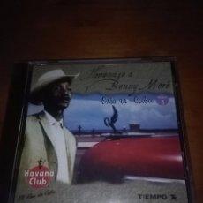 CDs de Música: HOMENAJE A BENNY MORÉ. ESTO ES CUBA. NUEVA PRECINTADA. C3CD. Lote 87258556
